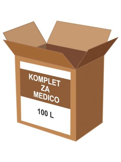 KOMPLET ZA MEDICO 100 l