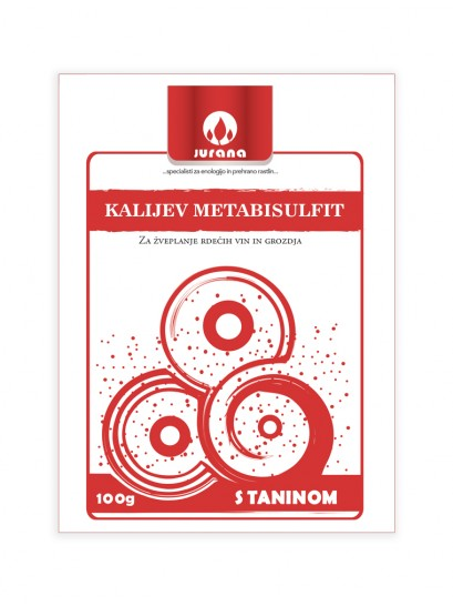 K-METABISULFIT + TANIN 100 g