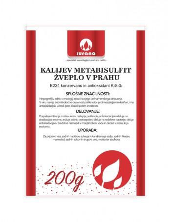 K-METABISULFIT - ŽVEPLO V PRAHU 200 g