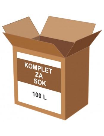 KOMPLET ZA SOK 100 l