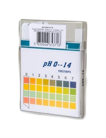 pH LISTIČI 0-14 100 kom