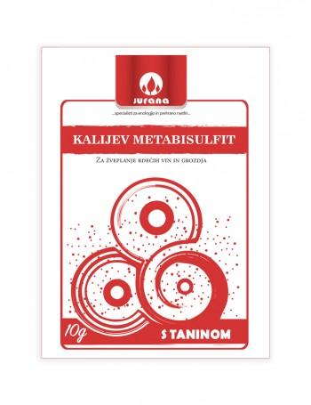 K-METABISULFIT + TANIN 10 g
