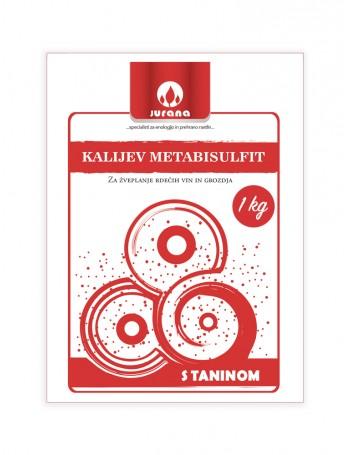 K-METABISULFIT + TANIN 1 kg