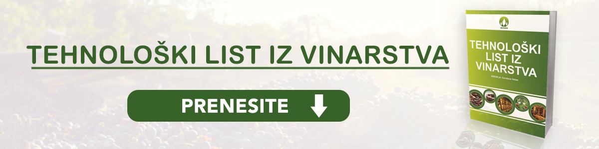 Tehnooški list iz vinarstva